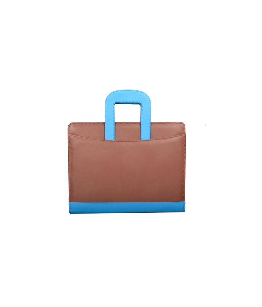 Coi Brown Leatherite Document Folder