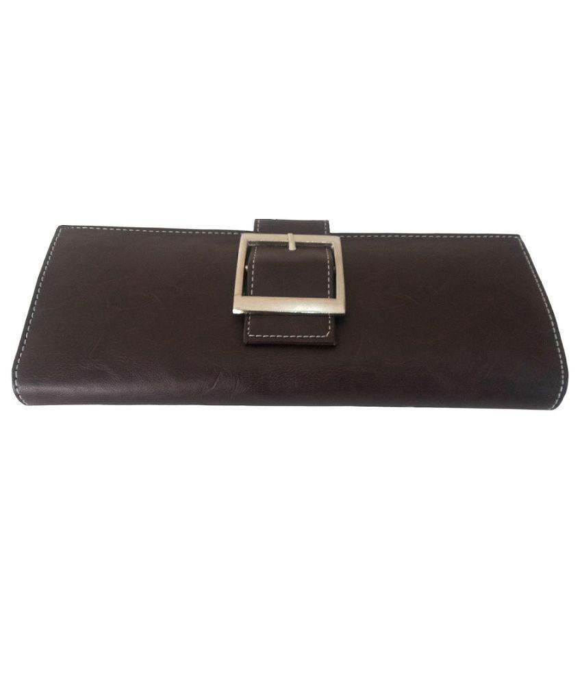 Saugat Traders Brown Fashionable Regular Wallet