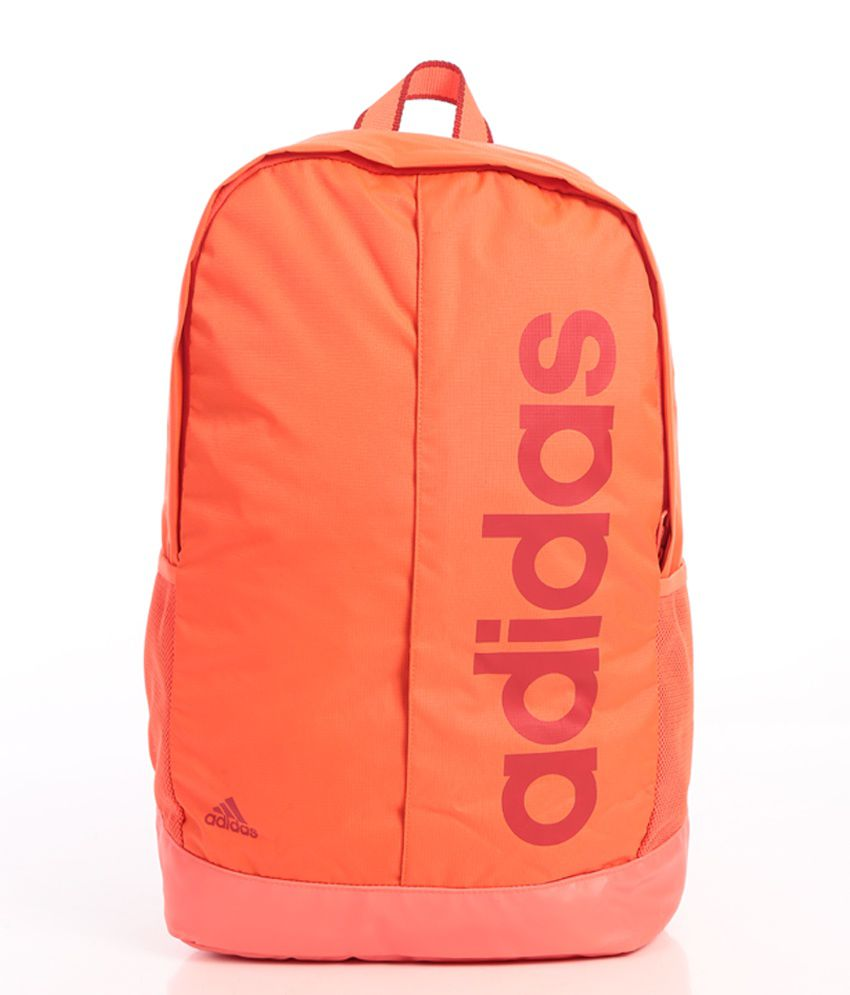 da6b5bffb5 Adidas Orange Backpack - Buy Adidas Orange Backpack Online at Best Prices  in India on Snapdeal
