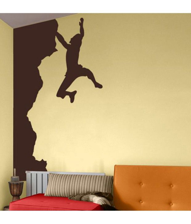 StickersKart Wall Stickers Wall Decals Sport Climbing Custom Mountain 1070  ... Part 54