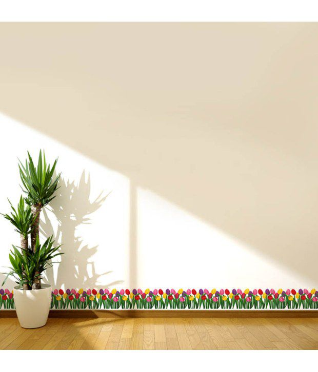 tulip border wall stickers - photo #10