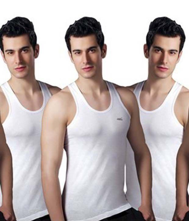 Lux Cotton Vests - Pack Of 5