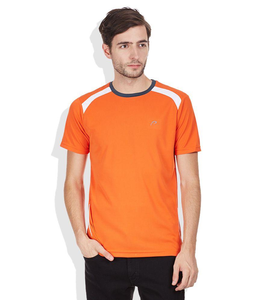 Proline Orange Round Neck