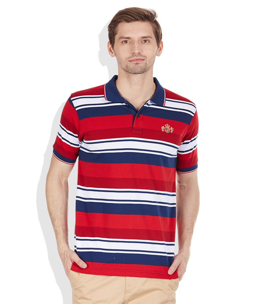 Proline Red Polo T-Shirts
