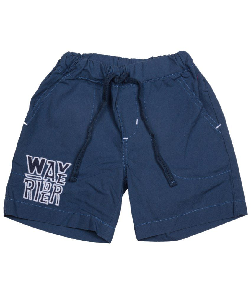 Tickle Boys Blue Woven Shorts