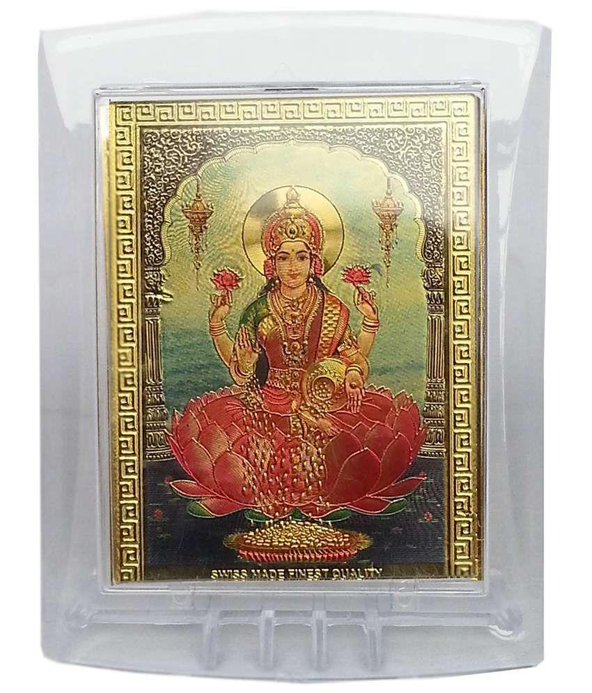 Gold Art 4 U Radha Krishna Gold Foils Religious Idol