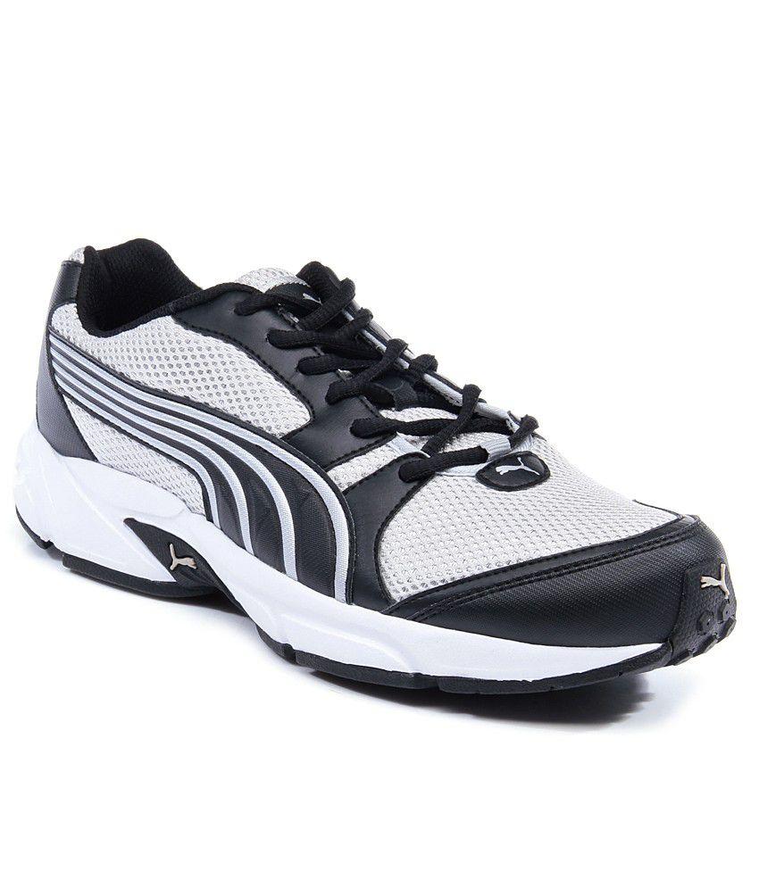 Puma Neptuno Zapatos Blanco Y Negro De Funcionamiento jlw2V7aMyk