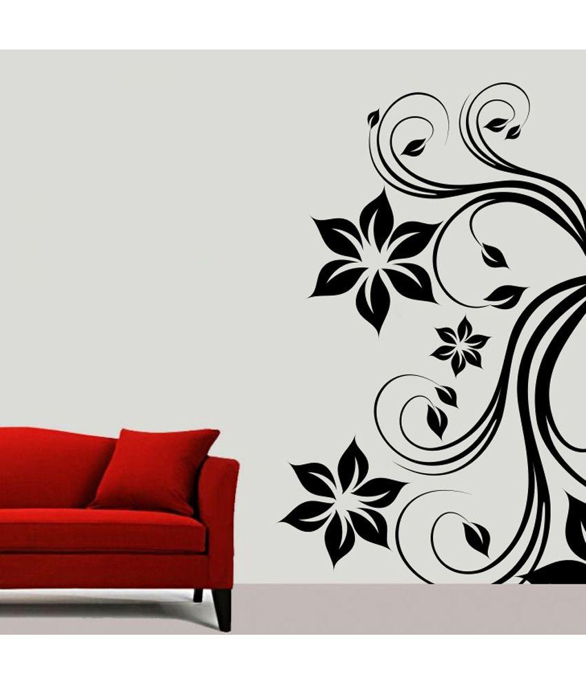 Wall Decor Black : Decor kafe black wall stickers buy