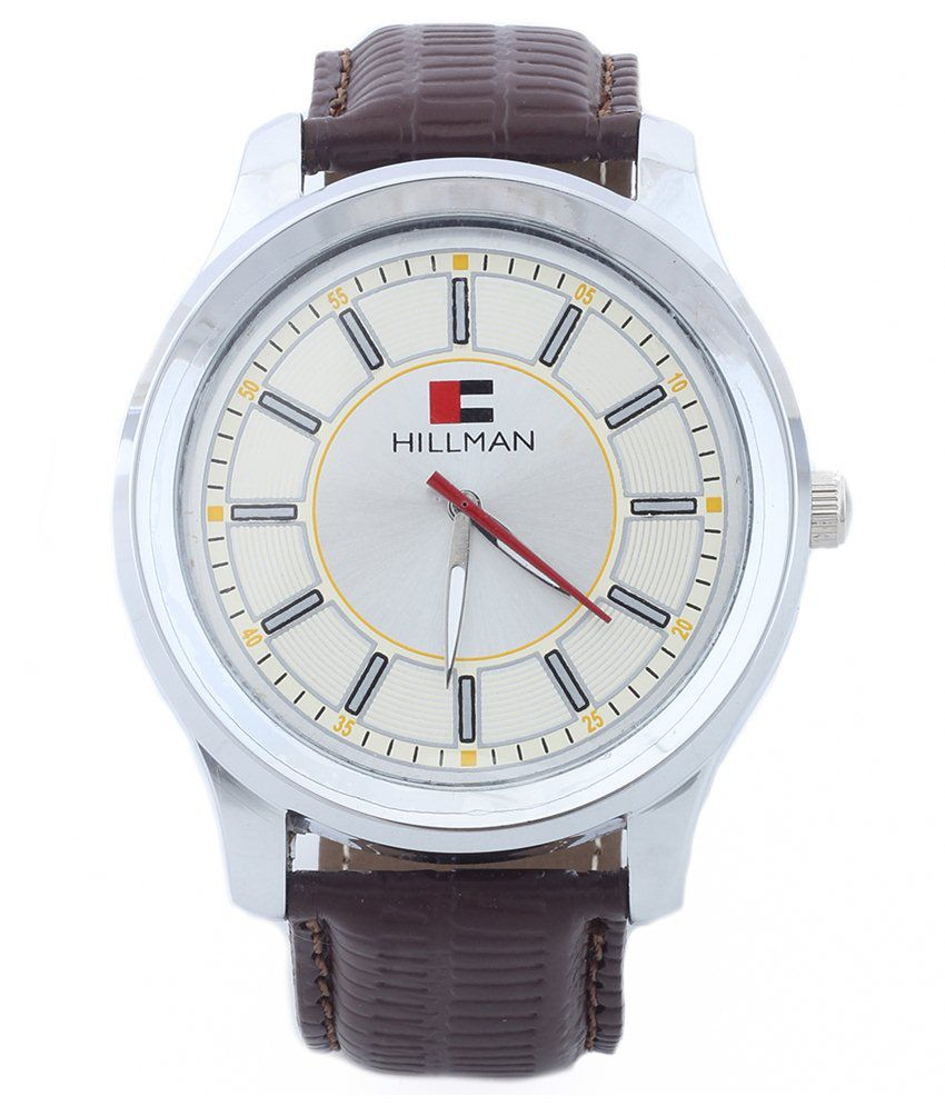 Hillman Brown Leather Casual Watch
