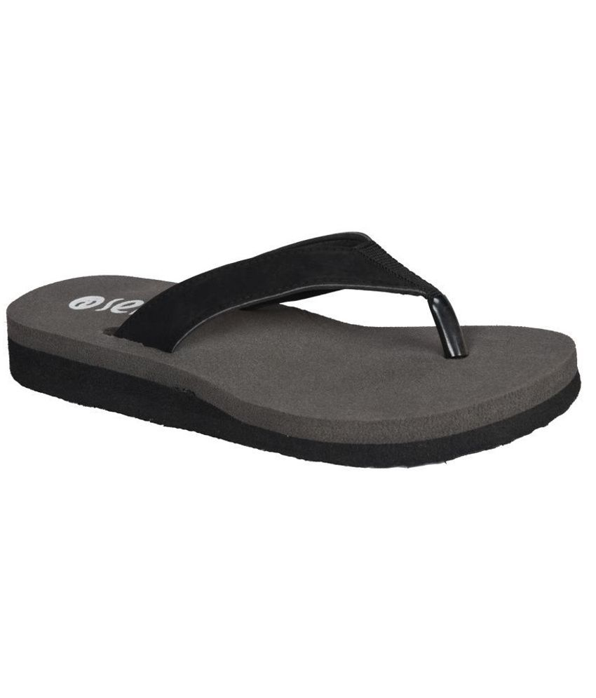 Senso Vegetarian Shoes Comfortable Gray Flip Flops