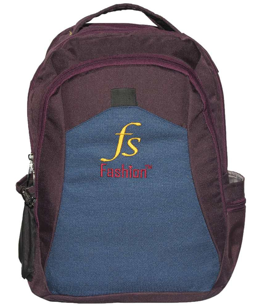 C Comfort Purple & Blue Backpack