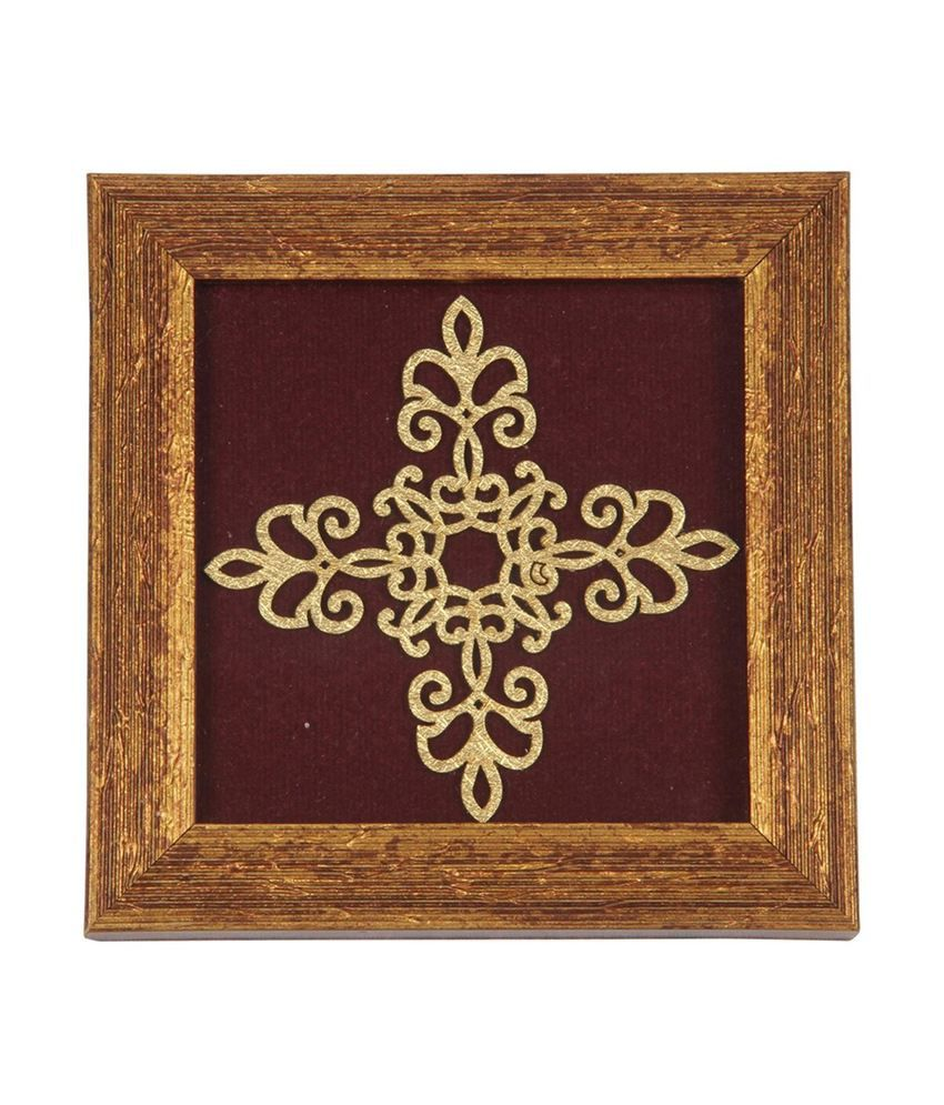 Aaina Home Decor Self Design Pattern Coaster Buy Online