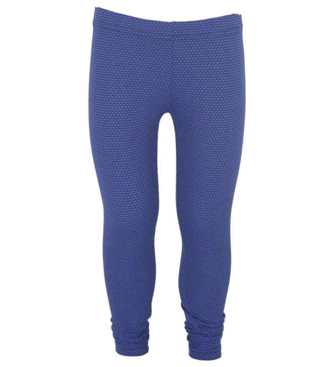 Purple Nasty Blue Cotton Capri