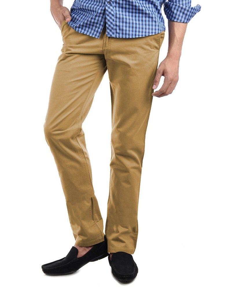 Value Clothing Khaki Cotton Chinos