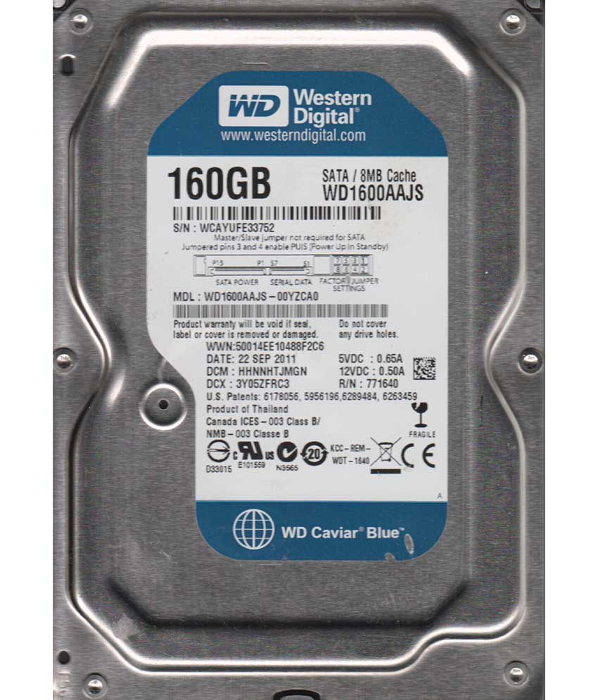 Wd 160 Gb Internal Hard Drive