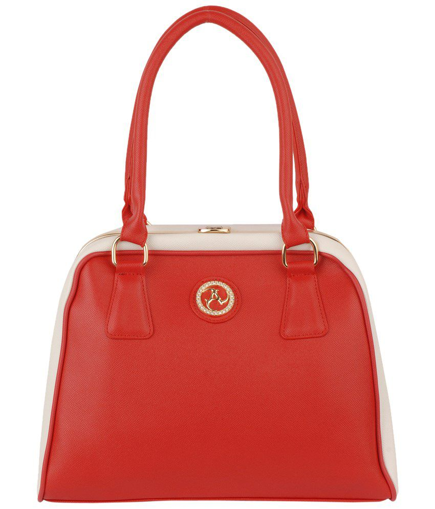 Alonzo ALONZO0229 Red Shoulder Bags
