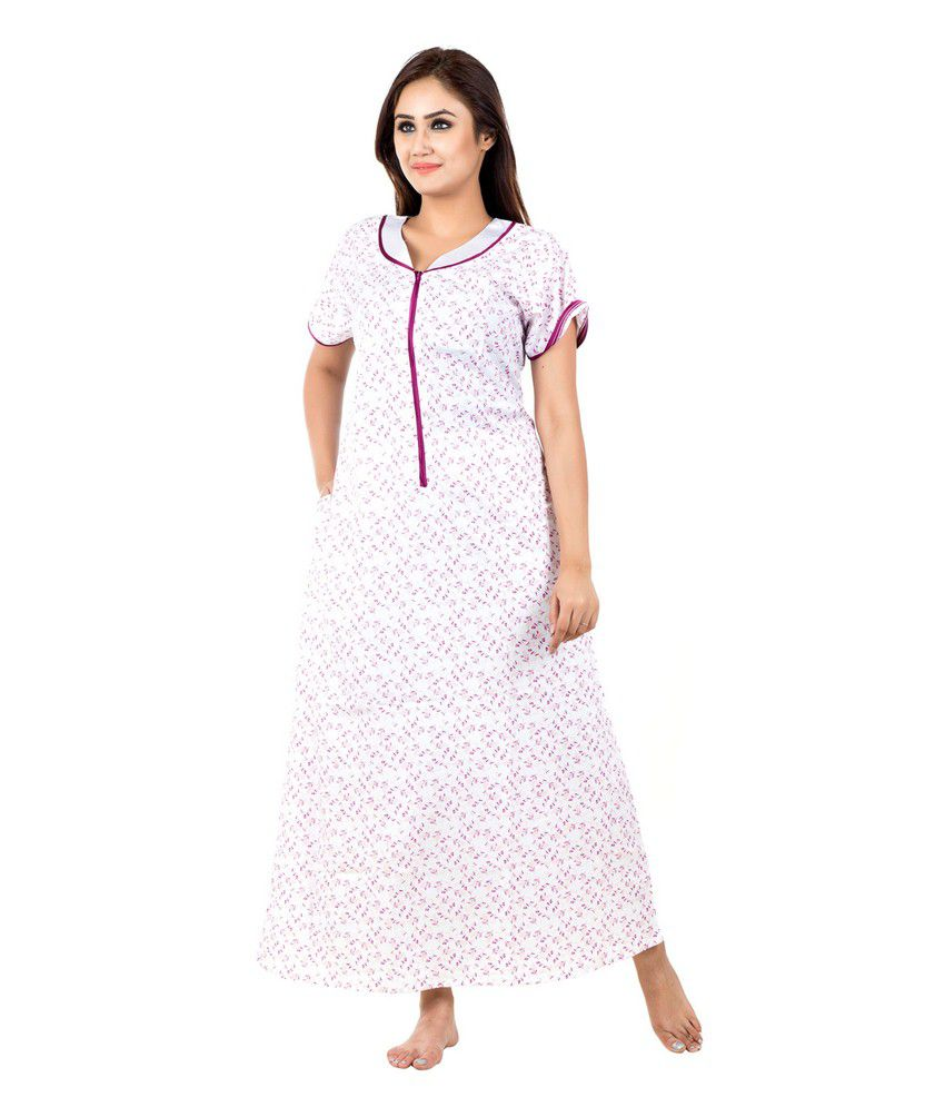 Buy Eazy Cotton Nighty & Night Gowns Online at Best Prices in India ...