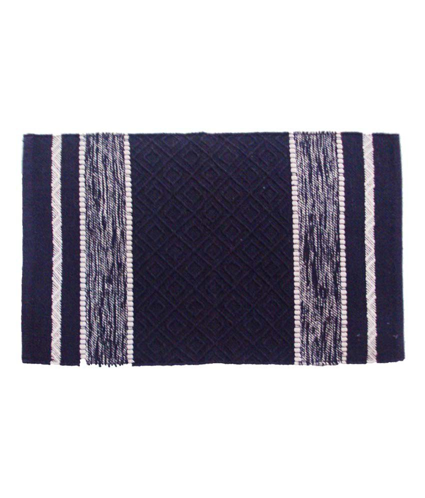 Hari international purple cotton gorgeous handwoven out for Decor international handwoven rugs