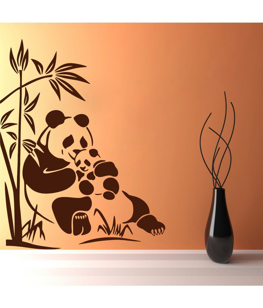 Snapdeal Wall Decor Items : Decor kafe brown wall sticker buy