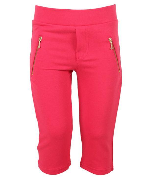 Eight26 Pink Capris By Rituwears