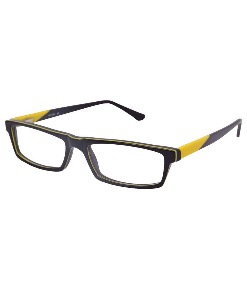 Eyeglasses Metal Frame : Enetram Purple Full Rim Non Metal Rectangle Eyeglasses ...