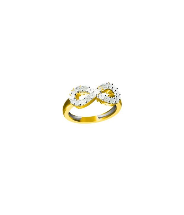 G V Jewels 18K Gold Ring