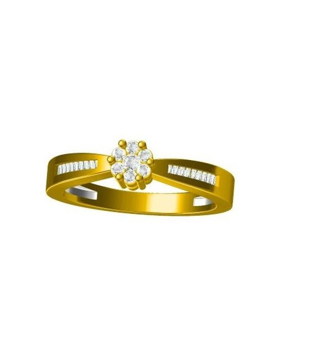 G V Jewels 92.5 Silver Ring
