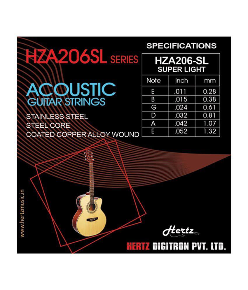 hertz hza 206sl acoustic guitar string buy hertz hza 206sl acoustic guitar string online at. Black Bedroom Furniture Sets. Home Design Ideas