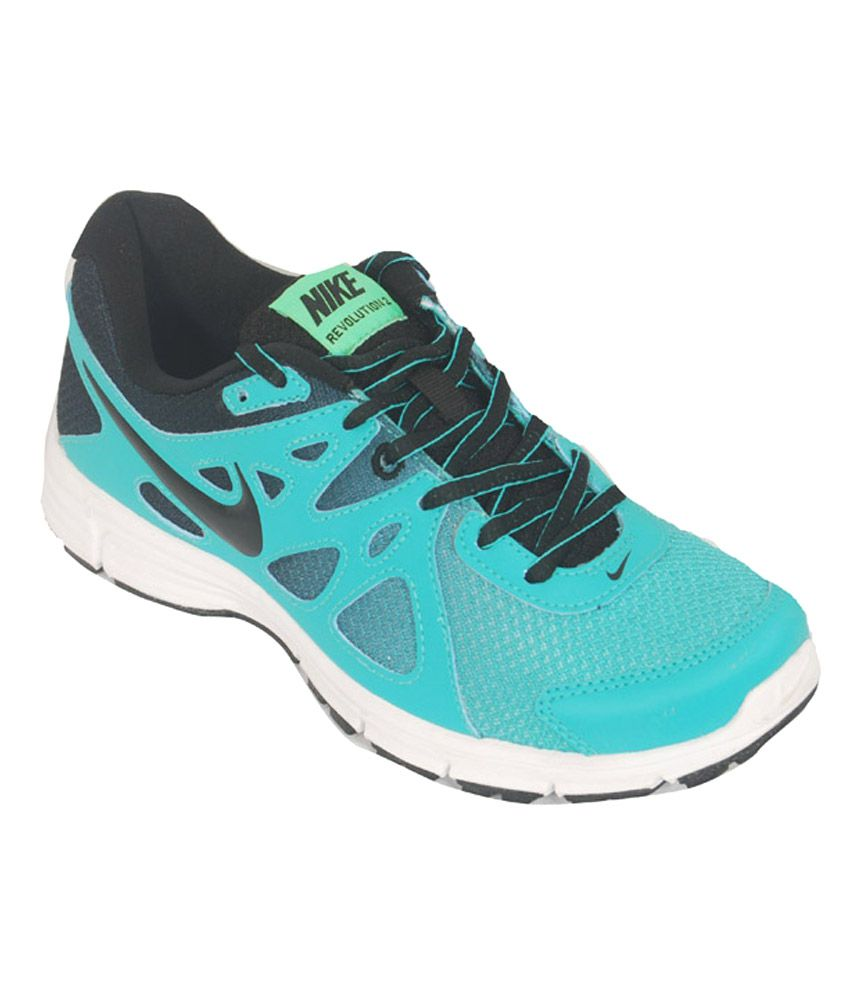 fecad7e4831 Nike Revolution 2 Msl Blue Running Shoes Price in India- Buy Nike ...