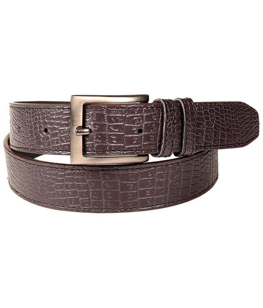 Fedrigo Brown Croco Belt