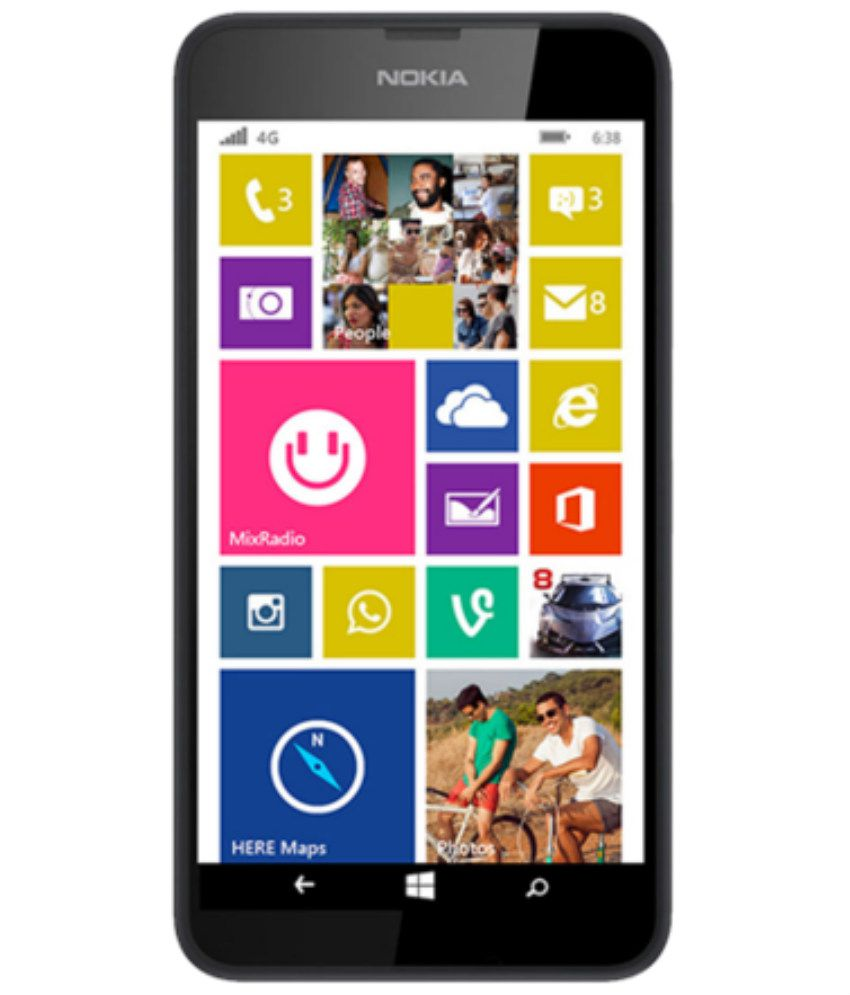 Nokia Lumia 638 4g 8gb Mobile Phones Online At Low Prices Snapdeal
