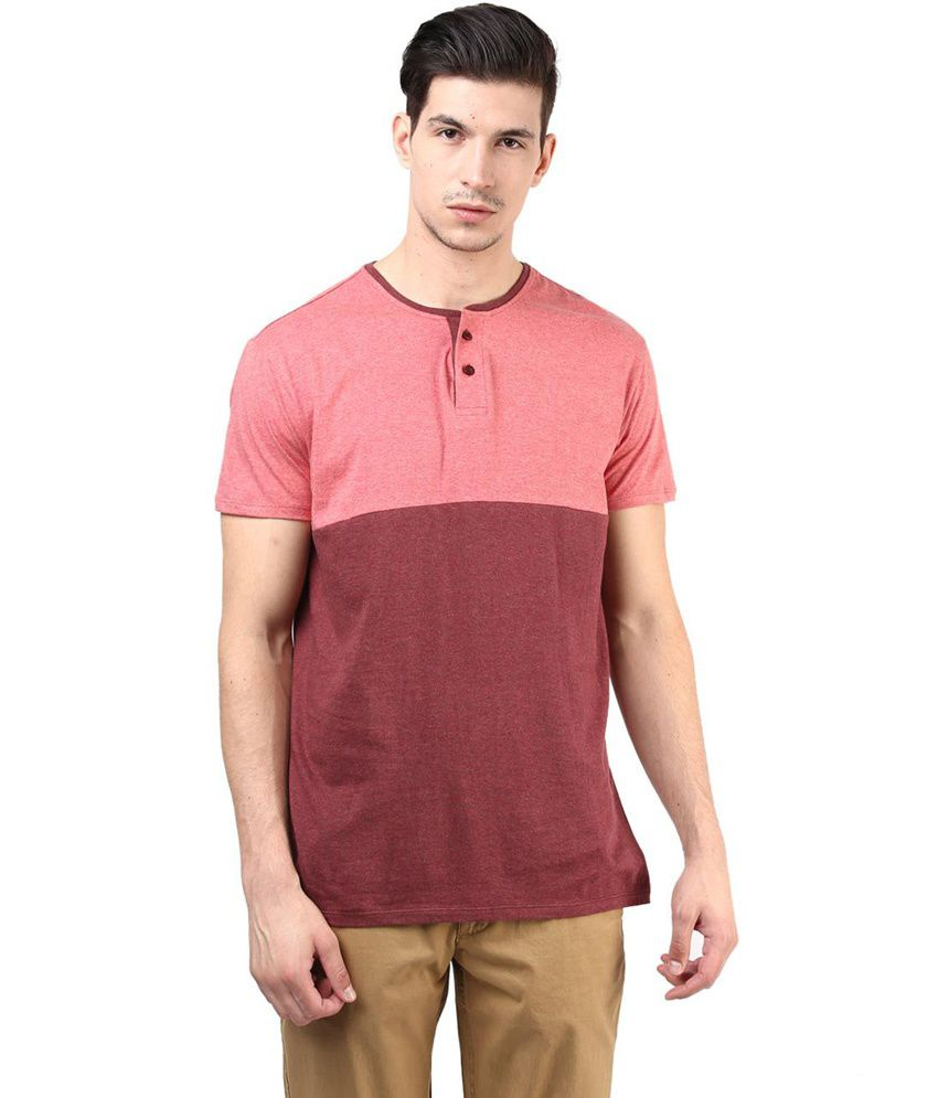 Tshirt company red cotton half sleeve round neck t shirt for Online tee shirt companies