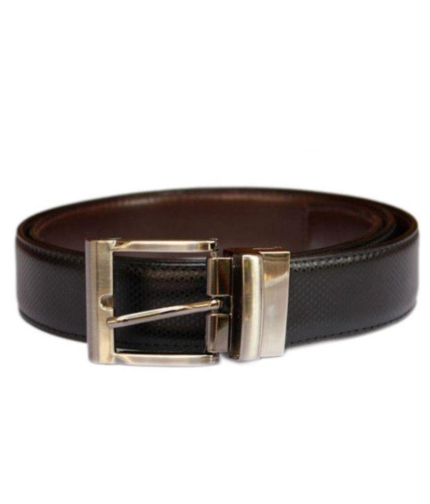 Winsome Deal Black Leather Belt For Men