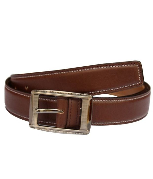 Winsome Deal Brown Leather Belt For Men