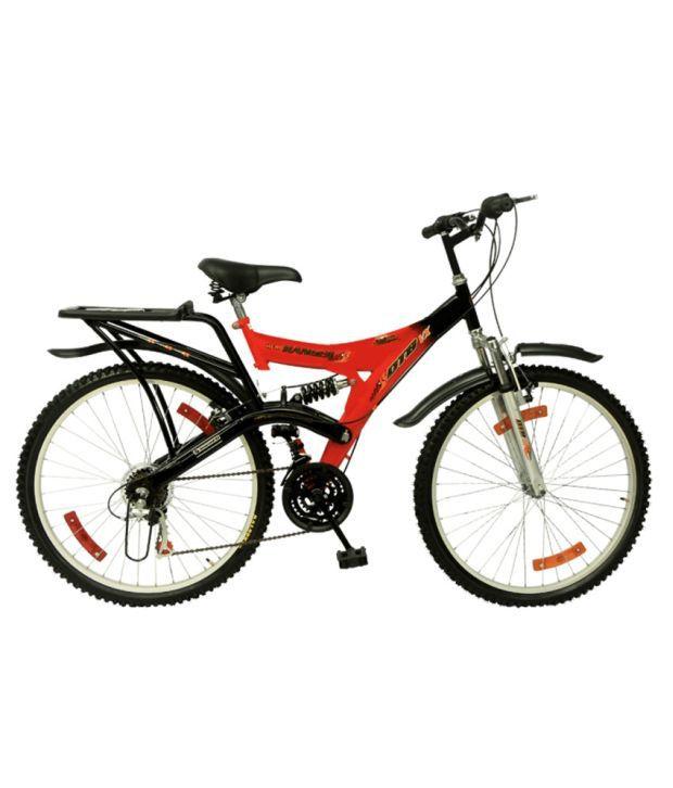 Hero Dtb 6speed Cycle Red Black Buy Online At Best Price