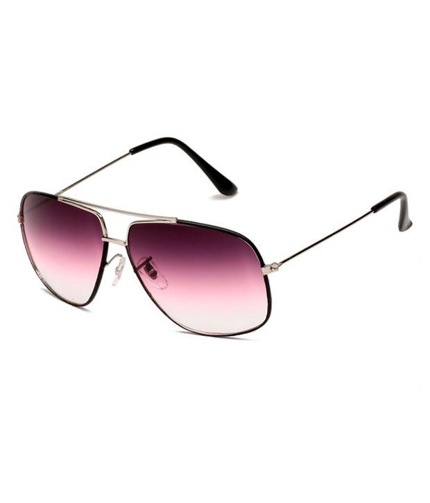 Escobar Navigator Black-Silver-Purple Sunglasses [55-130-16]