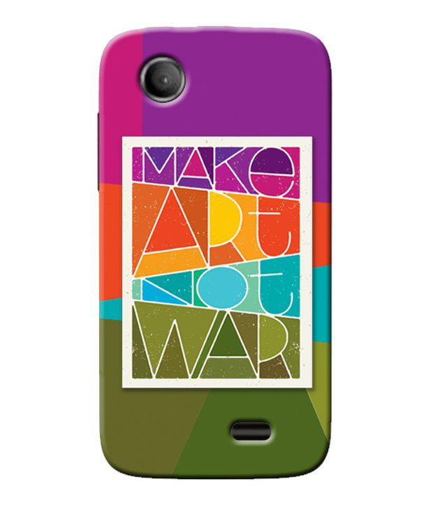reputable site 83678 4e01d Garmor Back Cover For Lenovo A369i - Printed Back Covers Online at ...