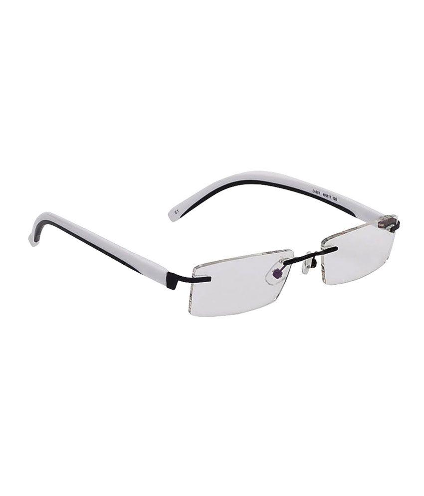 Temple Rimless Eyeglasses