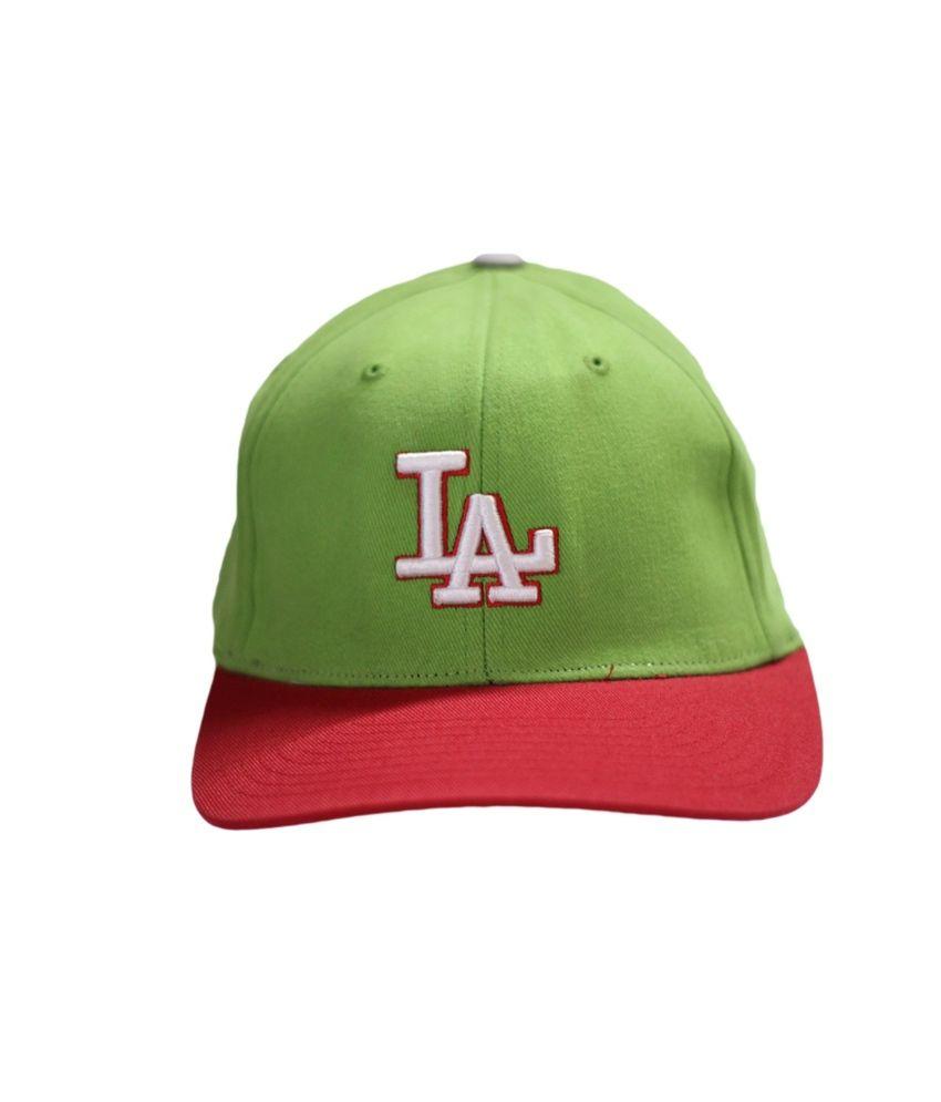 Stylenfashion Green Cotton Sports Cap For Men