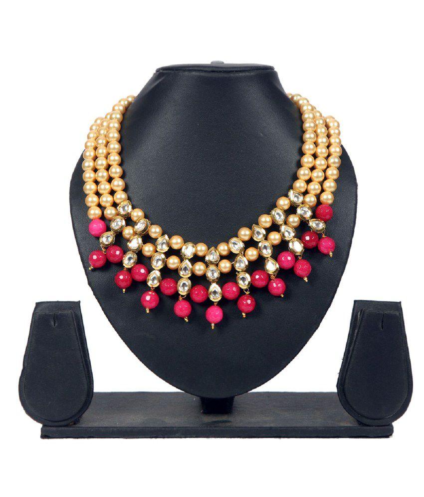 Envy Brass Choker Design Necklace