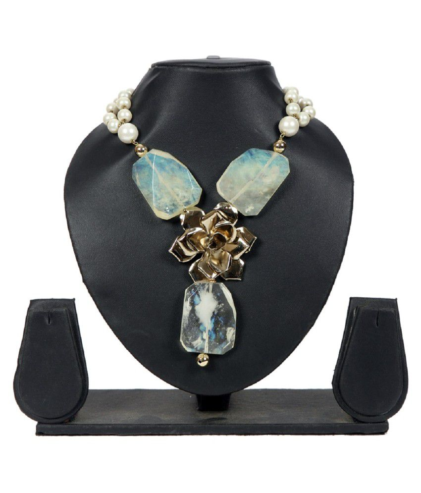 Envy Brass Contemporary Design Necklace