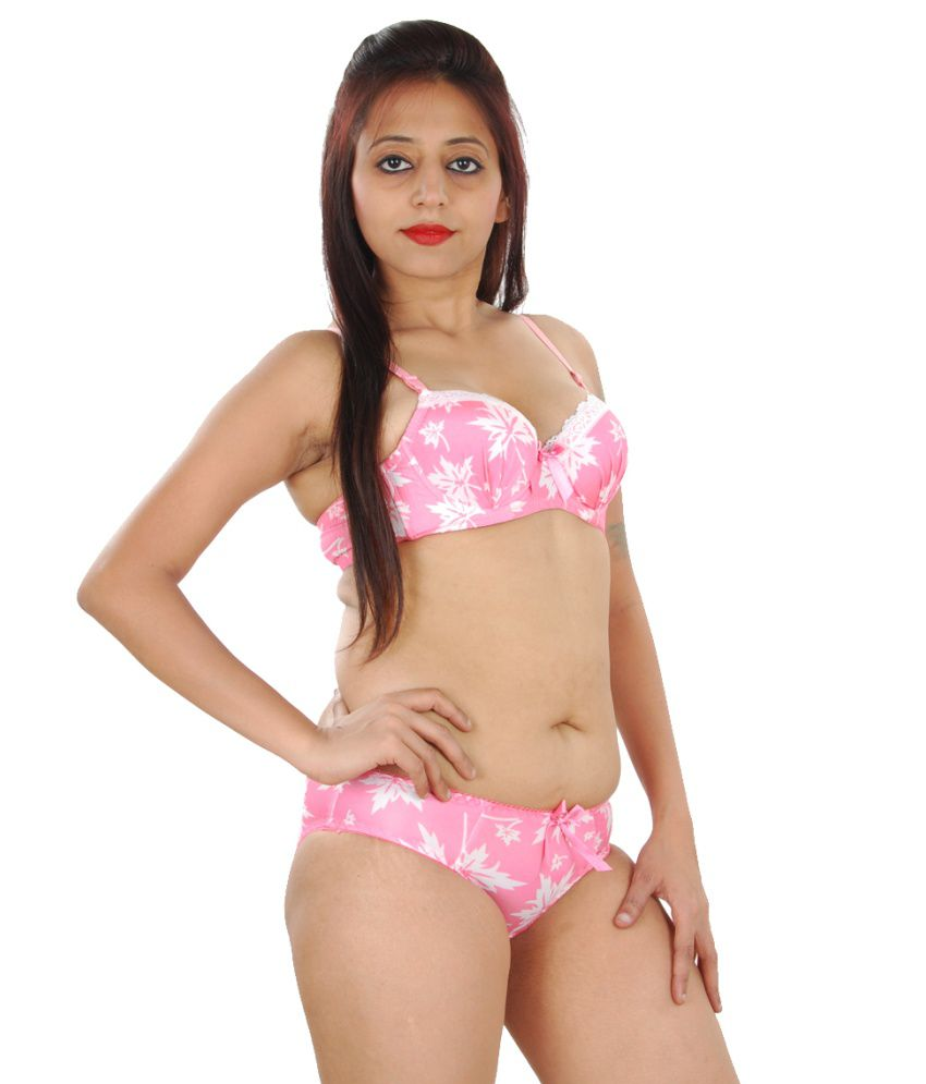 Buy Gwyn Lingerie Floral Print Designer Bra & Panty Set ...