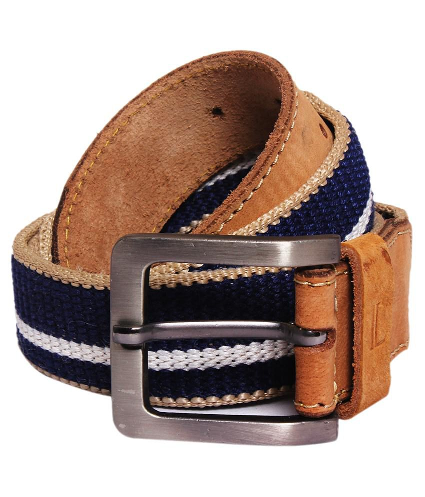Ligans NY Multi Canvas Belt