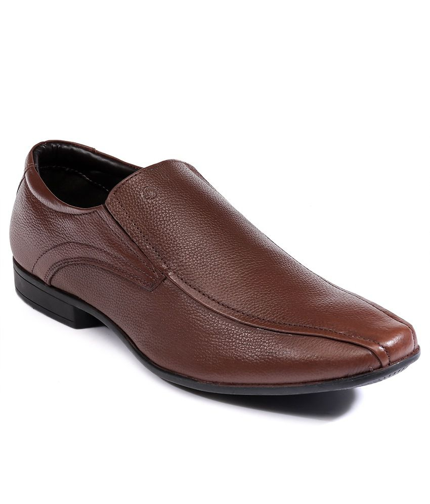 a2751628eeda Nez by Samsonite Brown Formal Shoes Price in India- Buy Nez by Samsonite  Brown Formal Shoes Online at Snapdeal