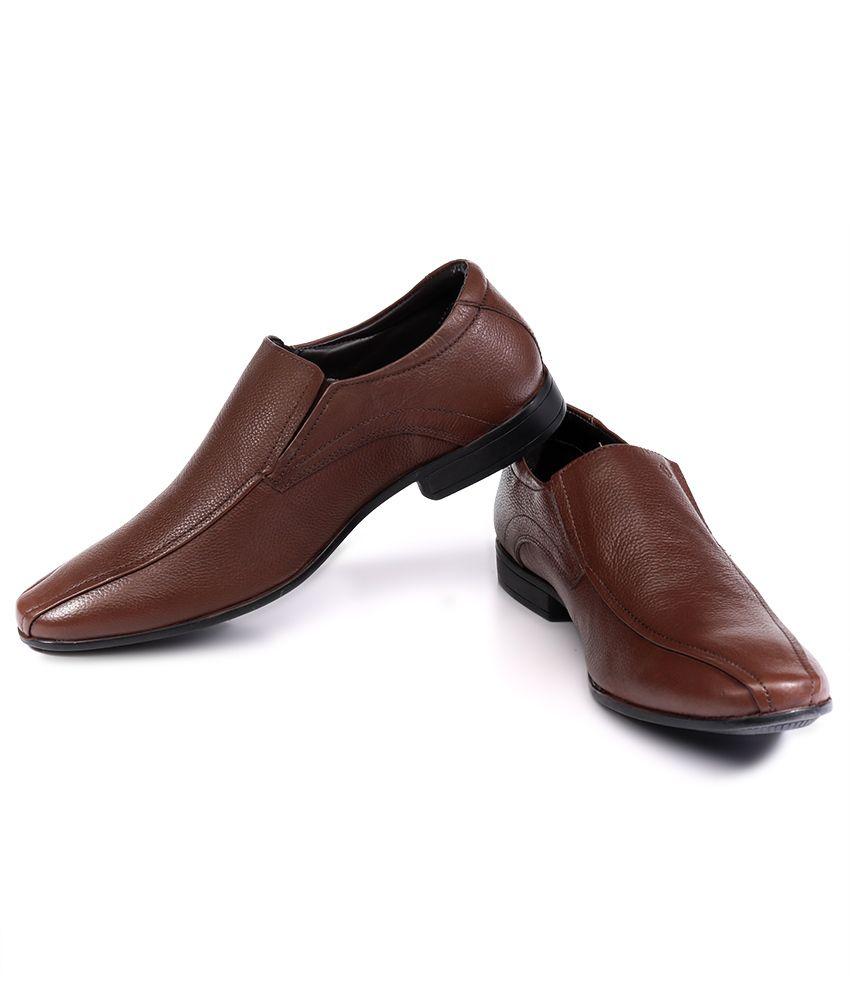 48109988db4c Nez by Samsonite Brown Formal Shoes Nez by Samsonite Brown Formal Shoes ...