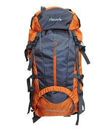 Attache 1021R Climate Proof Ruchsack & Hiking Backpack - Orange And Grey