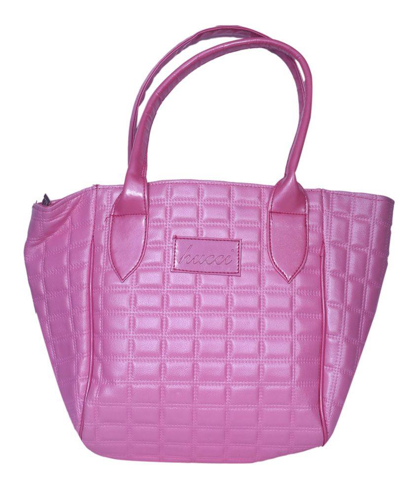 Hucci Pink Shoulder Bag