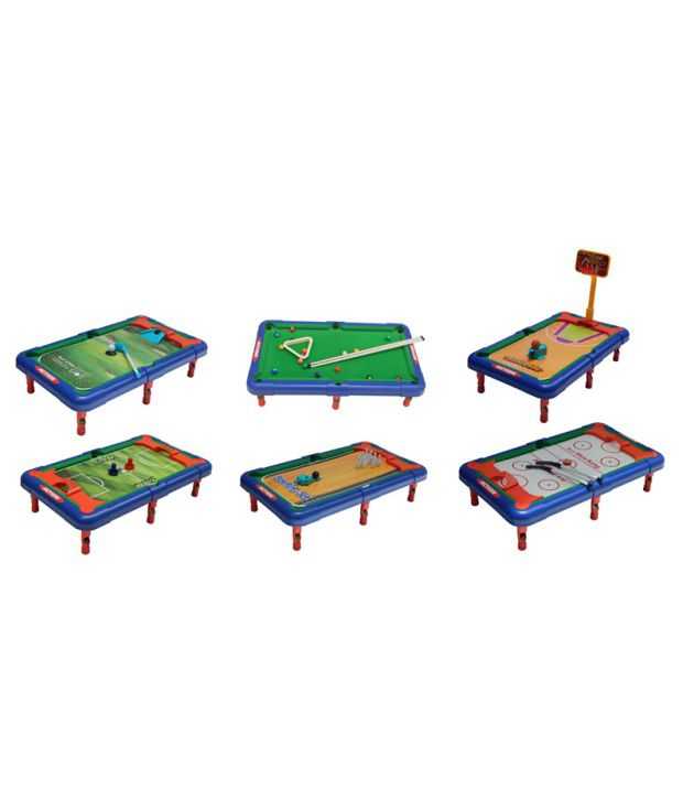 ... Vinex Action 6 In 1 Game Table