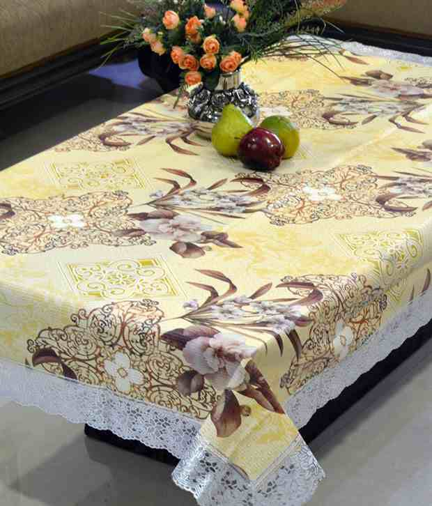 Freely Multicolor PVC Printed With Grip Backing Center Table Cover