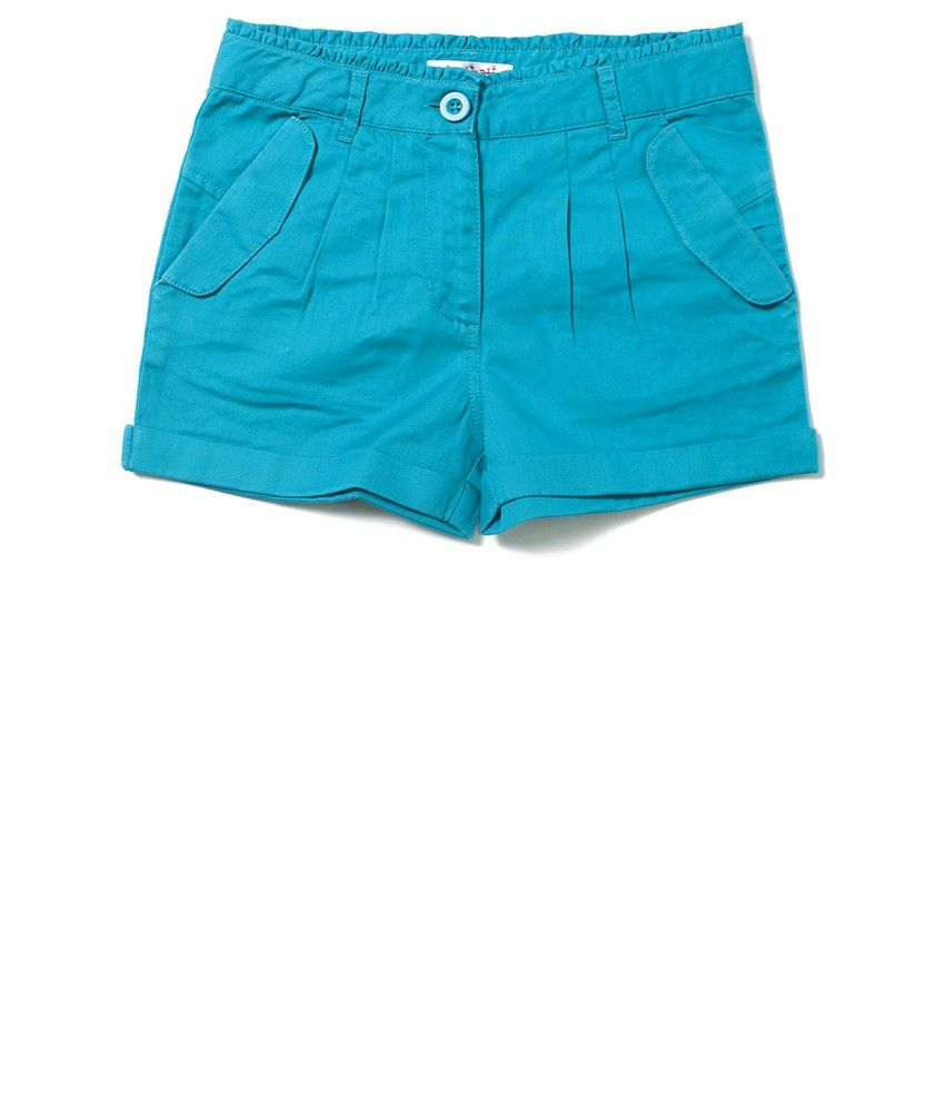 Nauti Nati Teal Girls Shorts